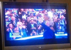Obama and Clinton - DNC 7-28-2016